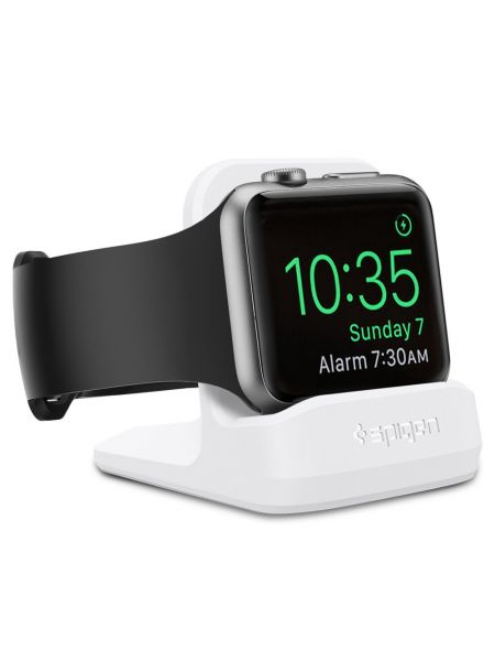 Подставка Spigen S350 Apple Watch, White