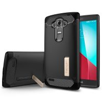 Чехол Spigen Rugged Armor для LG G4, Black