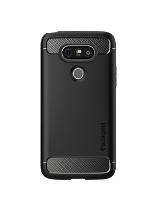 Чехол Spigen Rugged Armor для LG G5, Black