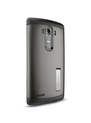 Защитный чехол SPIGEN для LG G4 - Slim Armor, Gunmetal