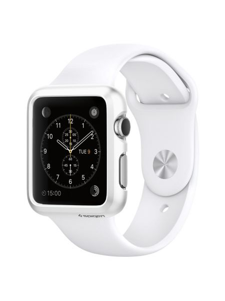 Apple Watch Case Thin Fit™ (38mm) Smooth White