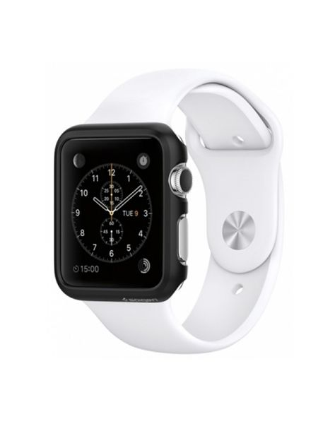 Apple Watch Case Thin Fit (38mm) Smooth Black