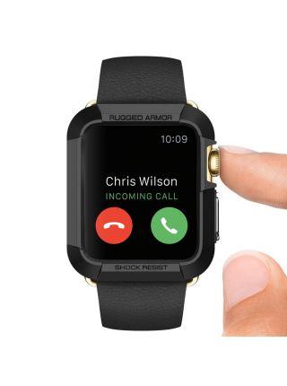 Apple Watch Case Rugged Armor (38mm) Black