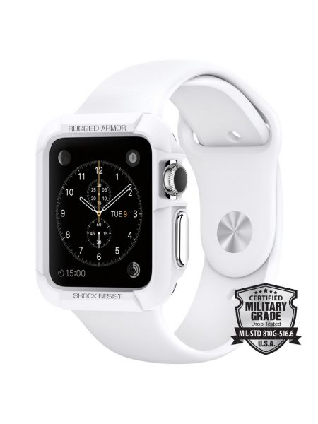 Apple Watch Case Rugged Armor (42mm) White