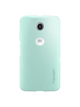 Чехол Spigen Thin Fit для Motorola Nexus 6, Mint