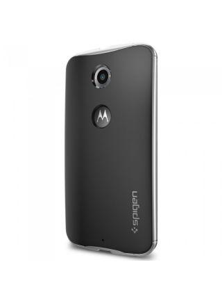 Чехол Spigen Neo Hybrid для Motorola Nexus 6, Satin Silver