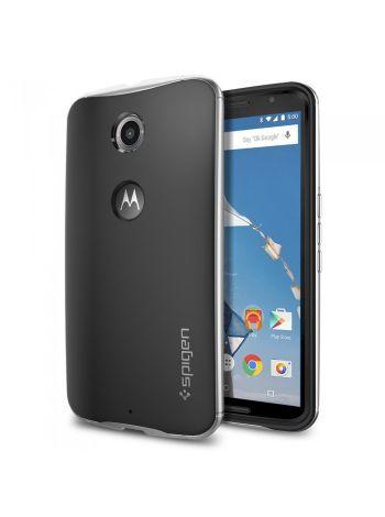 Чехол Spigen Neo Hybrid для Motorola Nexus 6, Satin Silver , SGP11239