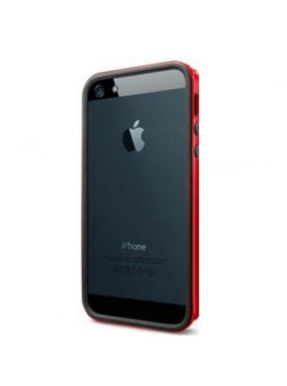 Бампер Spigen Neo Hybrid EX Slim vivid для iPhone SE/5S/5, Dante Red