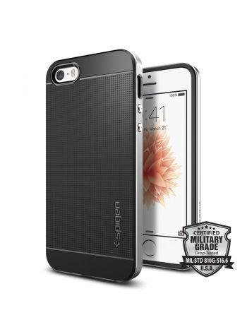 Чехол Spigen Neo Hybrid для iPhone SE, Satin Silver , 041CS20185