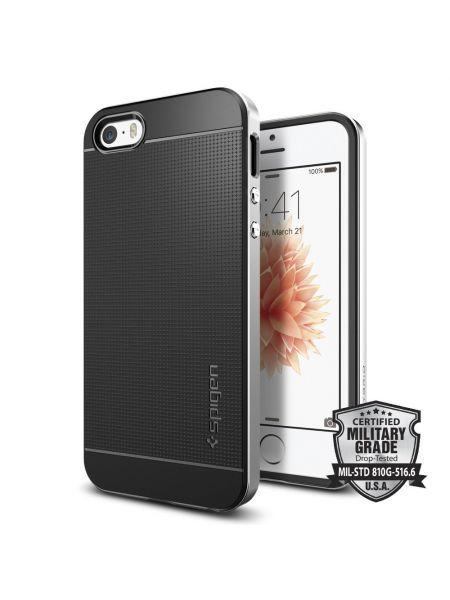 Чехол Spigen Neo Hybrid для iPhone SE, Satin Silver