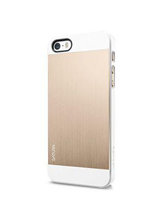 Чехол Spigen Saturn для iPhone SE/5S/5, Champagne Gold