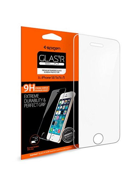 Защитное стекло Spigen iPhone 5