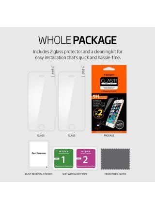 Защитное стекло Spigen iPhone 5, 2шт