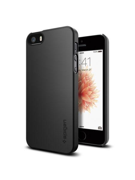 Чехол для iPhone SE/5S/5 Case Thin Fit, Smooth Black
