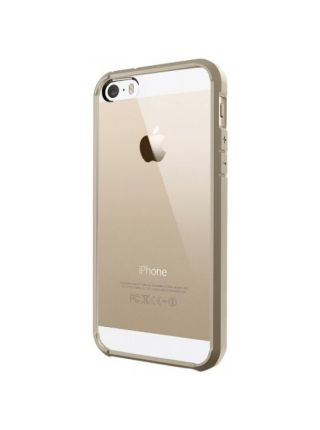 Чехол Spigen Ultra Hybrid для iPhone SE/5S/5, Gold