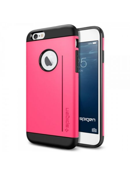 Чехол Spigen Slim Armor S для iPhone 6S/6, Azelea Pink