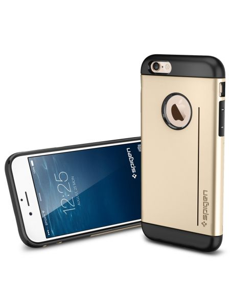 Чехол Spigen Slim Armor S для iPhone 6S/6, Gold