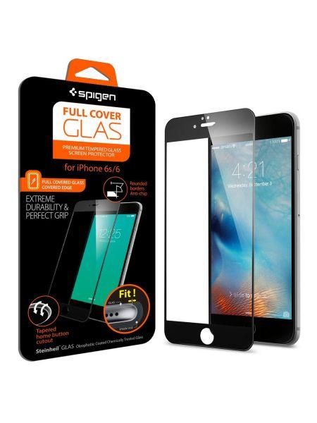 "Защитно стекло Spigen Glass ""GLAS.tR"" Slim для iPhone 6S/6 Full Cover"