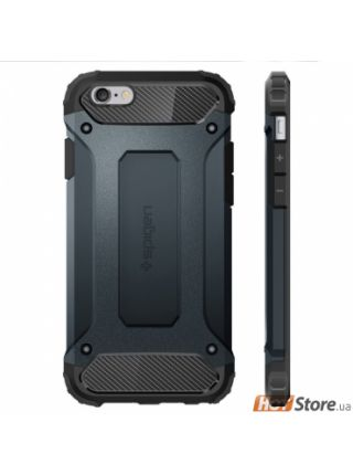 Чехол Spigen Tough Armor Tech для iPhone 6S/6, Metal Slate