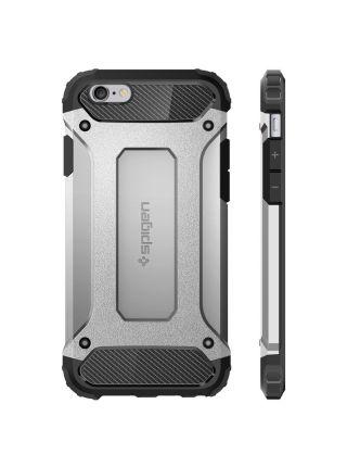 Чехол Spigen Tough Armor Tech для iPhone 6S/6, Satin Silver