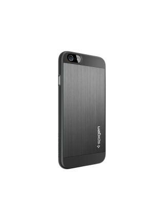 Чехол Spigen Aluminum Fit для iPhone 6S/6, Space Gray