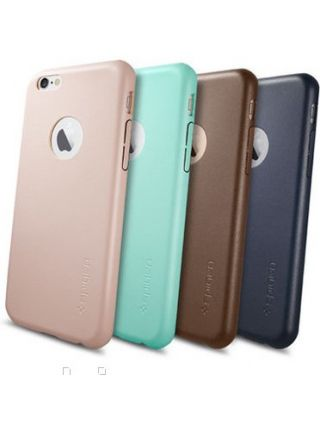 Кожаный чехол Spigen SGP LEATHER FIT для iPhone 6s/6, Mint