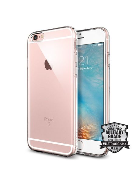 Чехол Spigen Liquid Armor для iPhone 6S/6, Crystal Clear