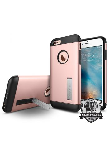 Чехол SGP для iPhone 6S /6 Slim Armor, Rose Gold, SGP11723