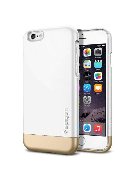 Чехол SGP для iPhone 6S/6 Style Armor, Shimmery White