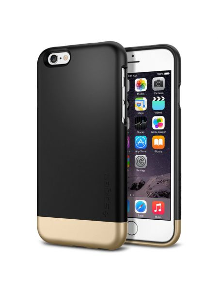 Чехол SGP для iPhone 6S/6 Style Armor, Smooth Black
