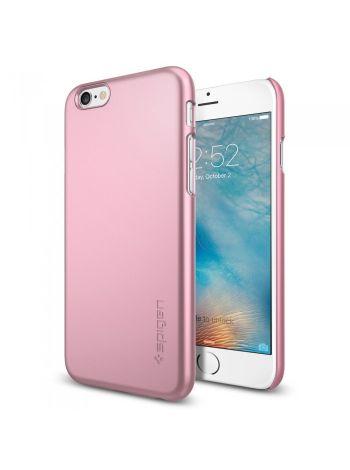 Пластиковый чехол iPhone 6S/6 Thin Fit, Rose Gold , SGP11787