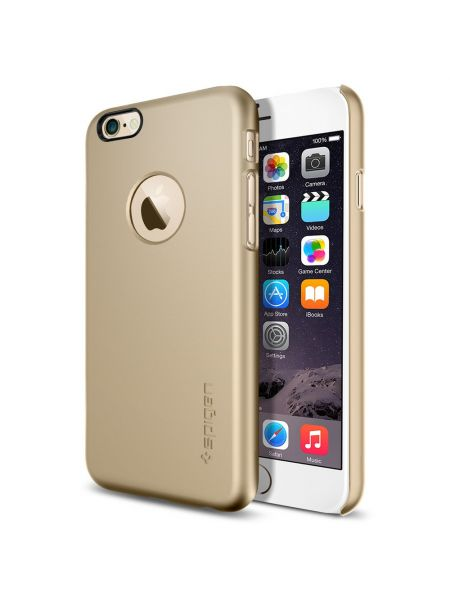 Чехол Spigen Thin Fit A, iPhone 6S/6, Champagne Gold