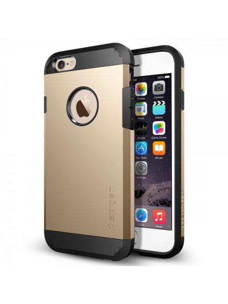 Чехол Spigen Tough Armor для iPhone 6S/6, Champagne Gold