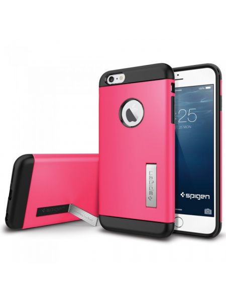 Чехол Spigen Slim Armor Volt для iPhone 6 Plus, Azalea Pink
