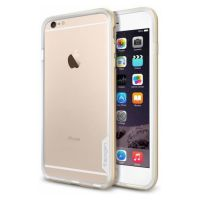 Бампер Spigen Neo Hybrid EX для iPhone 6S Plus/6 Plus , Shampagne Gold