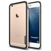 Бампер SGP Neo Hybrid EX Metal для iPhone 6S PLUS/6 PLUS, Champagne Gold