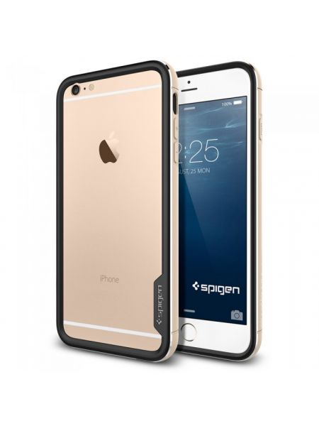 Бампер SGP Neo Hybrid EX Metal для iPhone 6S PLUS/6 PLUS, Champagne Gold