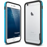 Бампер Spigen Neo Hybrid EX Metal для iPhone 6S Plus/6 Plus, Metal Blue