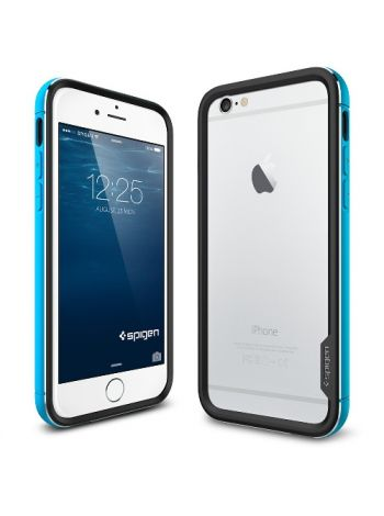 Бампер Spigen Neo Hybrid EX Metal для iPhone 6S Plus/6 Plus, Metal Blue , SGP11193