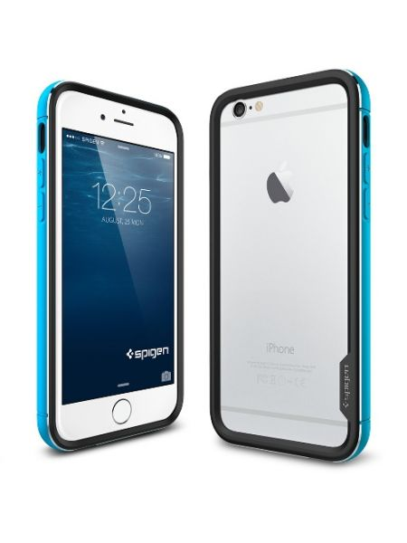 Бампер Spigen Neo Hybrid EX Metal для iPhone 6S Plus/6 Plus, Metal Blue