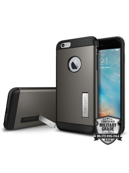 Чехол Slim Armor iPhone 6s Plus / 6 Plus, Gunmetal