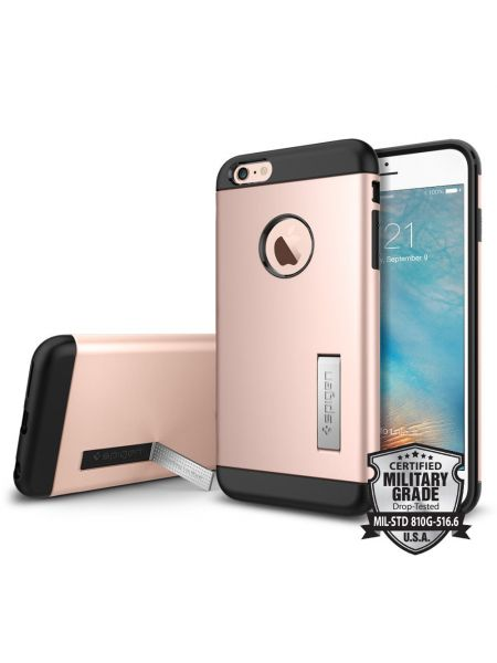 Чехол Slim Armor iPhone 6s Plus / 6 Plus, Rose Gold