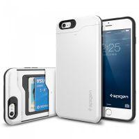 Чехол Spigen Slim Armor CS для iPhone 6S /6 PLUS, Shimmery White