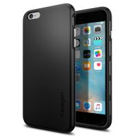Чехол Spigen Thin Fit Hybrid для iPhone 6S PLUS/6 PLUS, Black