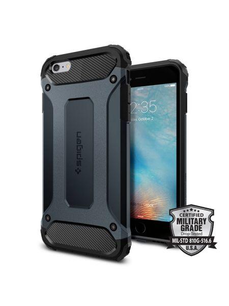 Чехол Spigen Tough Armor Tech для iPhone 6S/6 Plus, Metal Slate