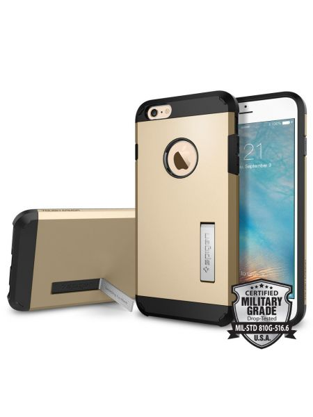 Чехол Spigen Ultra Hybrid для iPhone 6S/6 Plus, Champagne Gold