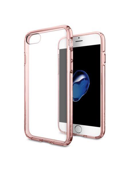 Чехол Spigen для iPhone 7 / 8 Ultra Hybrid, Rose Crystal