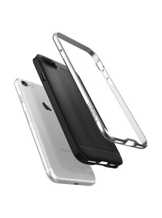 Чехол Spigen для iPhone 7 / 8 Neo Hybrid, Satin Silver
