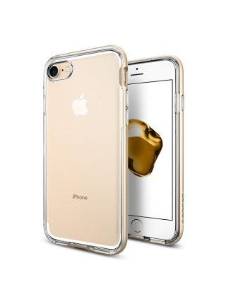 Чехол Spigen для iPhone 7 / 8 Neo Hybrid Crystal, Champagne Gold