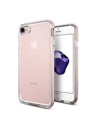 Чехол Spigen для iPhone 7 / 8 Neo Hybrid Crystal, Rose Gold